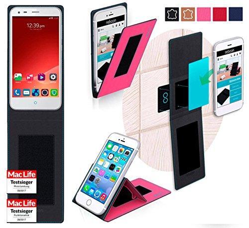Hülle für ZTE Blade S6 Plus Tasche Cover Hülle Bumper | Pink | Testsieger