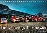 Einsatzfahrzeuge der Feuerwehr (Tischkalender 2021 DIN A5 quer)