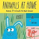 Animals at Home: Match 27 Animal...