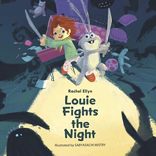 Louie Fights the Night audiobook cover art