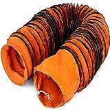 Mophorn Conducto Flexible de PVC Ventilador 7,6 m Diámetro de 35,6 cm Manguera de Conducto Flexible de PVC Conducto de Ventilación Tubo de Manguera de Ventilación Conductos de Aire de PVC Ignífugo
