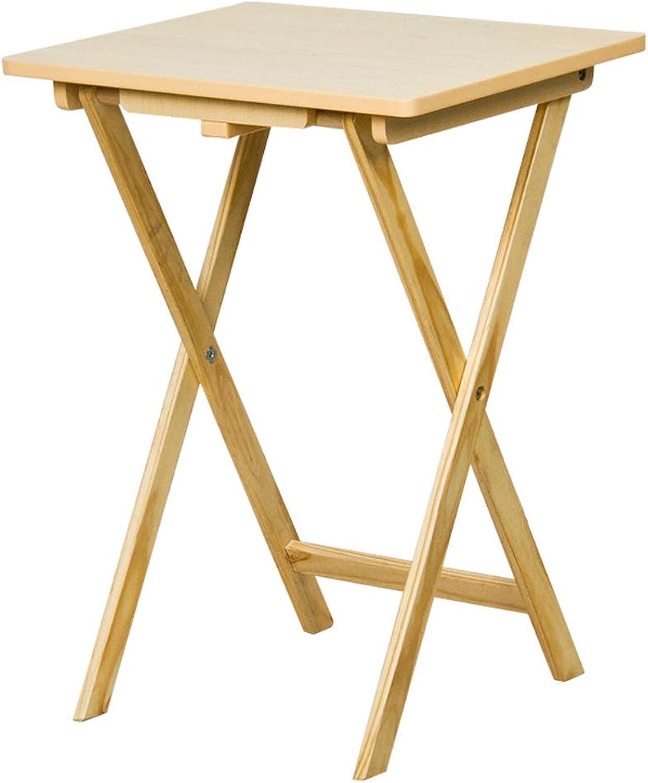 Computer Desk Fashion Casual Laptop Desk Wood color Simple folding table