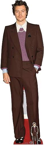 Star Cutouts Ltd CS836 Harry Singer Songwriter - Cortador de cartón con Minifalda Gratis, cumpleaños, Regalos, Fiesta...