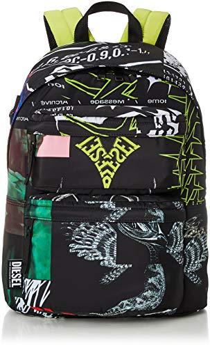 Diesel ORYS RODYO AM - Mochila para hombre, color negro, talla única