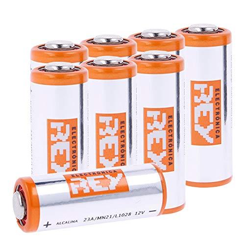 Pack 12 Batterias Alcaline MN21 12V 23A, Alta Capacità