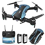 GPS Drone x pro FPV Drones with Camera for adults1080p 5G WiFi FPV Live Video Auto-Return Home Follow Me Altitude Hold Orbit Mode Long Flight Time for Adults Kids Beginners