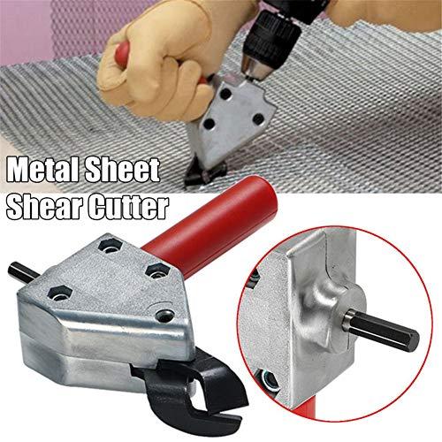 Knabbern Metall Schneiden Blatt, 4EVERHOPE Knabber sah Cutter Tool Elektrische Bohrschere Säge Cutter Tool Schere