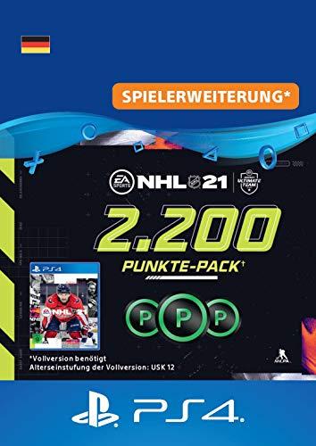 NHL 21 Hockey Ultimate Team 2.200 Punkte-Pack | Download Code - deutsches Konto