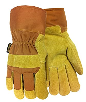 Red Steer 550 Heatsaver Lined Pigskin Work Glove [Price Is Per Pair]