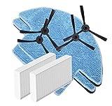 IUCVOXCVB Accesorios de aspiradora Kits De Reemplazo For El Ajuste For MOLISU V8S Pro Vacío Robot De Filtros HEPA Cepillos Laterales De La Fregona (Color : Treeway)