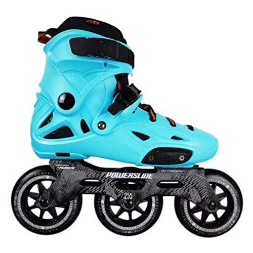 ME-Rollerns Powerslide Imperial Speed Patines en línea Calzado de Patinaje sobre Ruedas para Adultos de Calle Patines de Patinaje Libre Blue 36