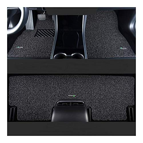 Huilian Mat Auto, Tappetino Antiscivolo Auto Tappetini Fit for Mercedes-Benz for Audi A3A4Q5A6L C200l for Passat for BMW X3 5 Lines (Colore : Gray-Black)