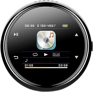 Adesign MP3 Joueur avec Bluetooth4.2, écran Tactile Complet HiFi Metal Bluetooth MP3 Lecteur MP3 avec écran de conférencie...