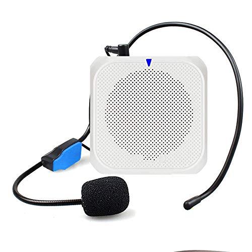 Lehrer-Sprachverstärker, 10W Ultra 2200mAh, Unterstützung TF/USB-bewegliches Mikrofon und Lautsprecher, Personal Mikrofon Verstärker Stimme