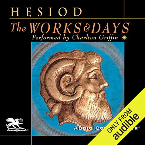 The Works and Days audiobook cover art