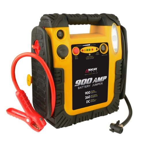 Buy Wagan 900 Amp Battery Jumper with Air Compressor