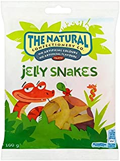 The Natural Confectionery Co Jelly Snakes - 160g