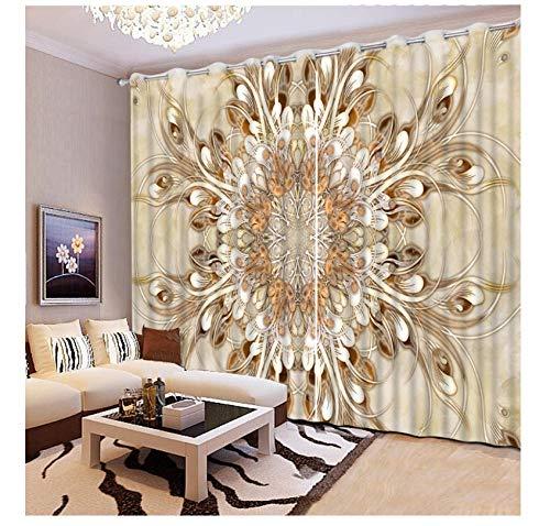 cortinas turquesa y gris