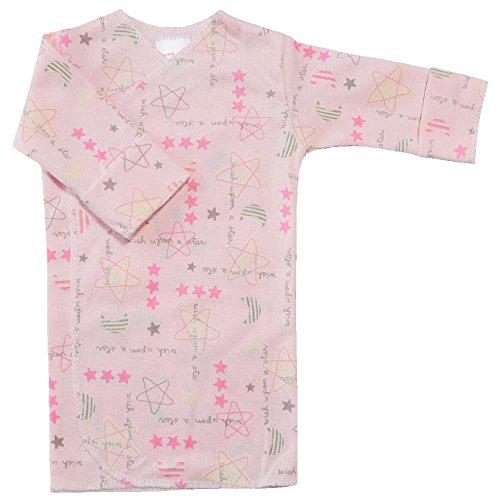 【未熟児】【低出生体重児】【早産児】【NICU】用 ベビー服:長袖長肌着 パトリシア (2300-3000g)
