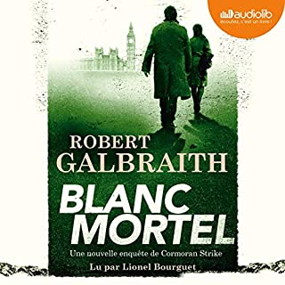 Blanc Mortel audiobook cover art