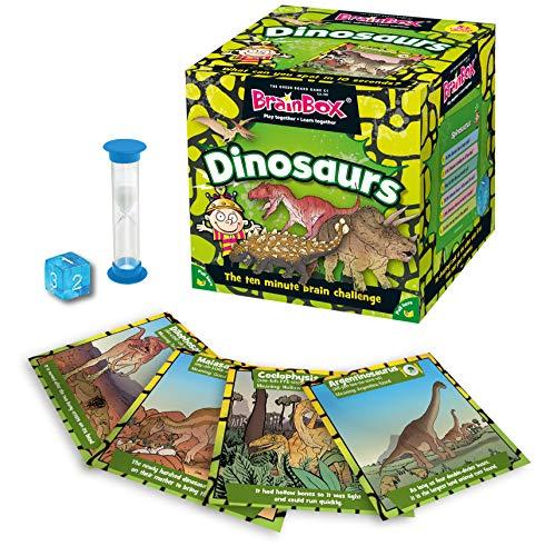 Brainbox - Dinosaurs Junior 5+ (Versione Inglese)