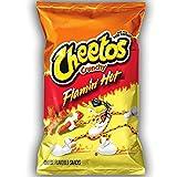 Frito-Lay Cheetos Croccante Fenicottero Caldo di Grande Formato - 226 g