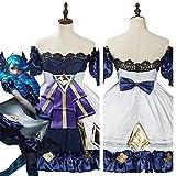 SKTE Juego LOL Gwen Disfraz De Cosplay Trajes Traje De Carnaval De Halloween (Color : Female, Size : Medium)