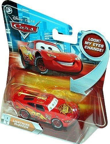 LIGHTNING MCQUEEN  1 w  Lenticular Eyes Disney   Pixar CARS 1 55 Scale Die-Cast Vehicle by Disney