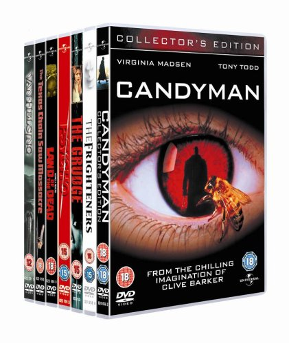 Ultimate Horror Collection : Candyman, The Frighteners, The Grudge, Psycho [1960], Land Of The Dead, Texas Chain Saw Massacre, Van Helsing [DVD]
