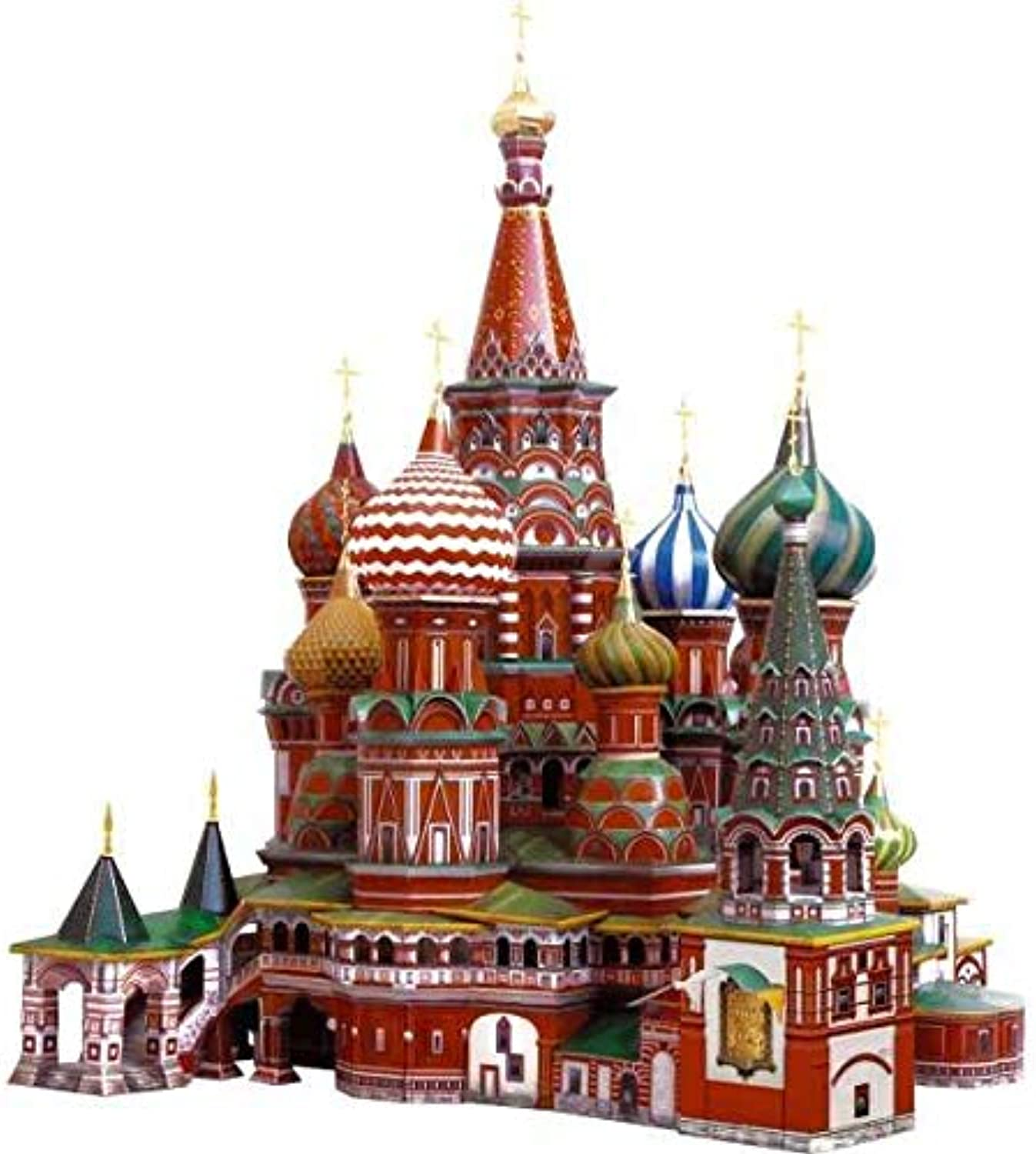 3D PUZZLE  LANDMARK CATHEDRAL OF ST. BASIL . CLEVER PAPER 14195