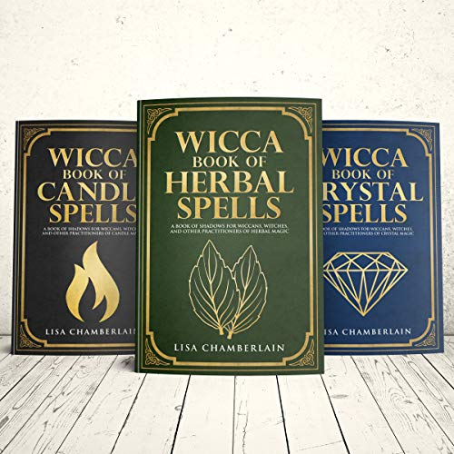 Wicca Spellbook Starter Kit audiobook cover art