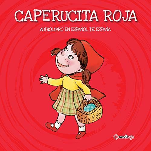 Diseño de la portada del título Caperucita Roja