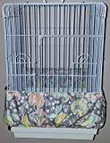 Penn Seed Seed Guard and Catcher Bird Cage Skirt - Paisley & Floral (Large (50'-100' Cage Circumference))