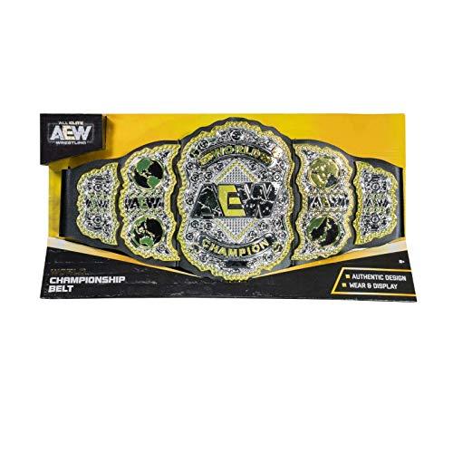 AEW World Heavyweight Meisterschaft Spielzeug Titel Wrestling Gürtel Unrivaled Serie 1 Wrestling Figur Alle Elite Wrestling