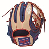 Rawlings(ローリングス) 野球 軟式用 HOH® MAJOR STYLE [内野手用] メジャースタイル GRXHMC42 ロイヤル/キャメル [サイズ 11.25] [11 1/4inch] LH(Right hand throw)※右投用