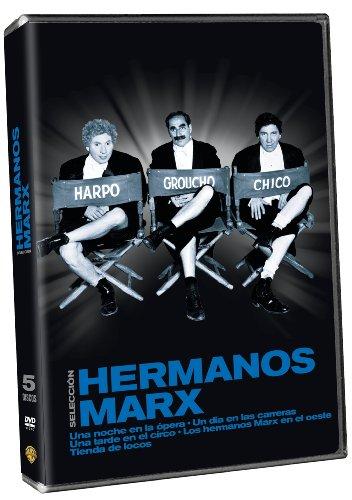 Hermanos Marx (Tienda De Locos ;Un Día En Las Carreras ; Una Noche En La Opera ; Una Tarde En El Circo; Hermanos Marz En El Oeste) [DVD]