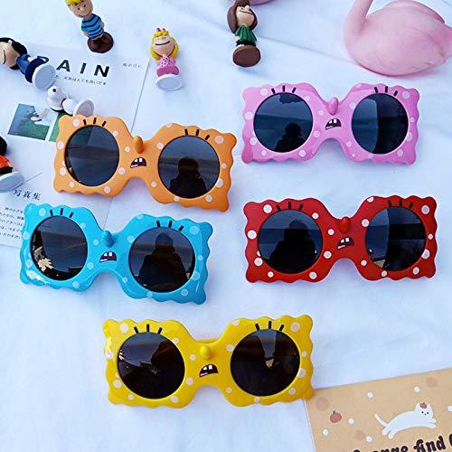 Gafas de Sol para niños, Silicona de Dibujos Animados de Moda, Gafas polarizadas para niños y niñas, protección UV, Gafas de Sol para bebés Los artículos más necesarios para Jugar en la Playa