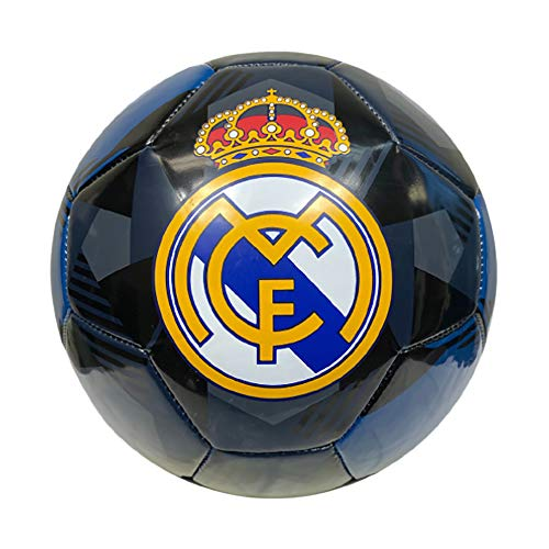 Icon Sports Fan Shop Prism Team Soccer Ball UEFA Champions League Soccer Real Madrid, Alternate, Size 5