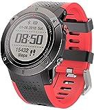 JSL GPS Smart Watch Sport All'aperto Militare Tattico Orologio 30 Metri Impermeabile Bussola Frequenza Cardiaca Pedometro Telecomando 15 Giorni Tempo di Uso B-B
