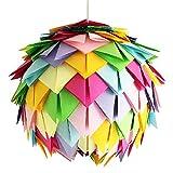 Crazy Harlekin, Ø 35cm, Papierlampe Hängelampe Lampe Lampenschirm Pendellampe Designerlampe...