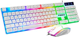 Gaming Keyboard and Mouse Combo, Mouse for PC Laptop Computer Game and Work