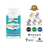 Calcio Puro microencapsulado con Vitamina D3 de alta biodisponibilidad - Huesos sanos y fuertes...