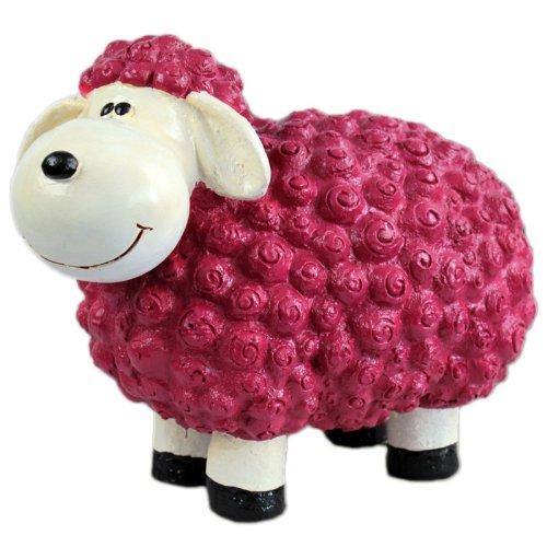 Vamundo Süßes Deko-Schaf für den Garten - Brombeer