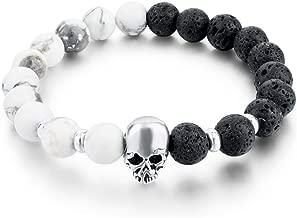 AISHIPING Elastische steen armbanden van natuursteen voor dames