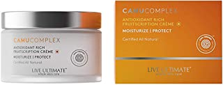 Live Ultimate Camu Complex Antioxidant Rich Daily Moisturizer with White Oak & Chinese Basil Plant Stem Cells – Shea Butte...