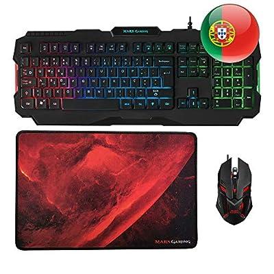 Mars Gaming MACP0 Combo Gaming Keyboard Black