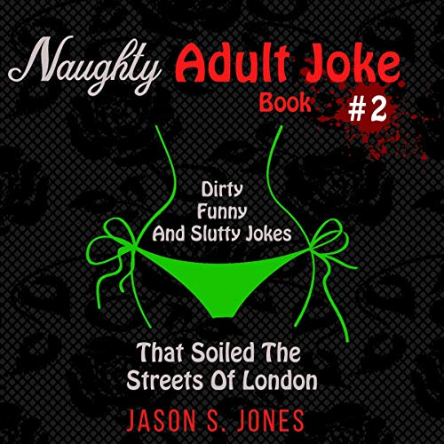 Naughty Adult Joke Book #2 cover art