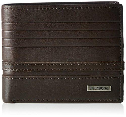 G.S.M. Europe - Billabong Herren Portemonnaie Phoenix Snap Wallet, black, One Size