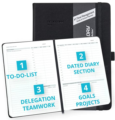 2021-2022 Academic Planner Weekly Monthly School Diary, Calendar by Action Day - We Make The Worlds...