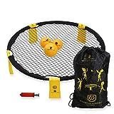 B BOCHAMTEC Strikeball 3 Ball Game Kit - Includes Playing Net, 3...